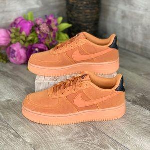 Nike Air Force 1 LV8 Style (GS) Monarch-Gum Brown